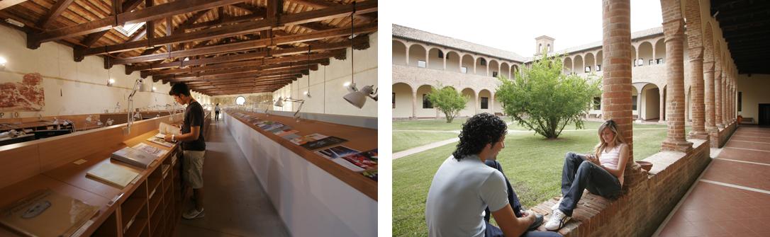 Biblioteca e Chiostro