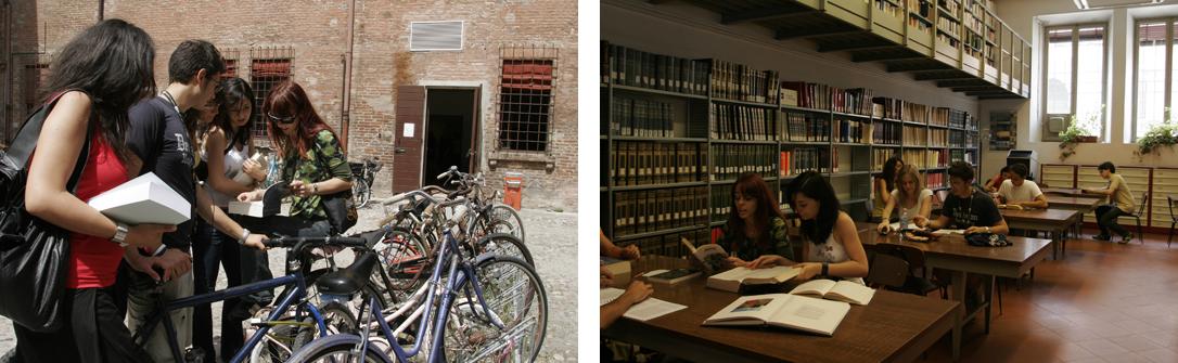 "Cortile e sala studio Biblioteca di Studi Umanistici ""Amleto Bassi"".jpg"